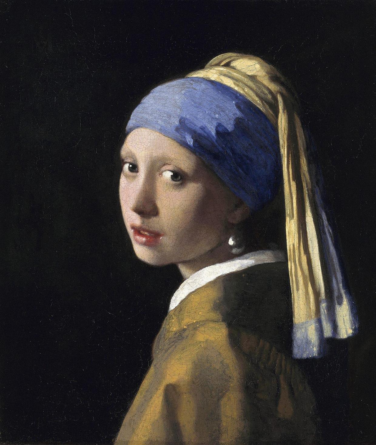 Meisje met de parel, Johannes Vermeer. Circa 1665.  Beeld Corbis via Getty Images