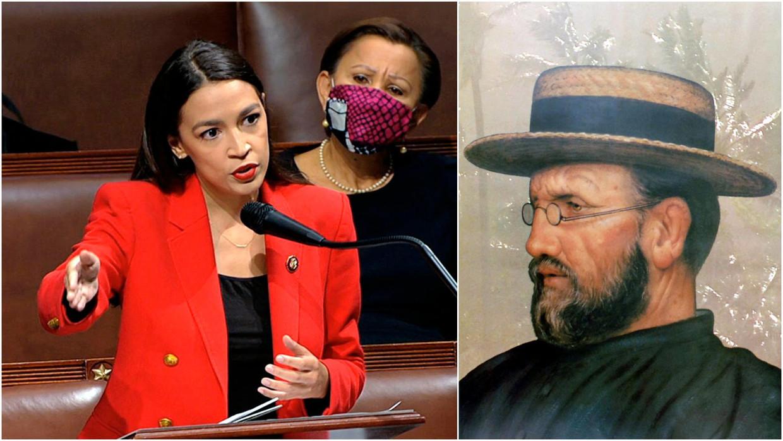 Congreslid Ocasio-Cortez. Beeld AP/Vertommen