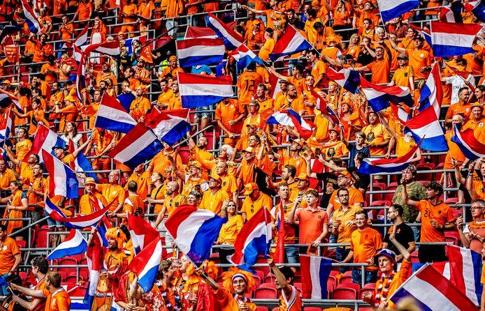 Als alles meezit ligt een oranje volksfeest in het verschiet deze zomer..