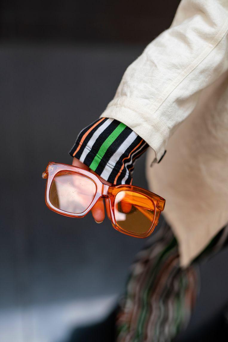 'Met deze bril lijkt het altijd mooi weer.'  Beeld Jordi Huisman