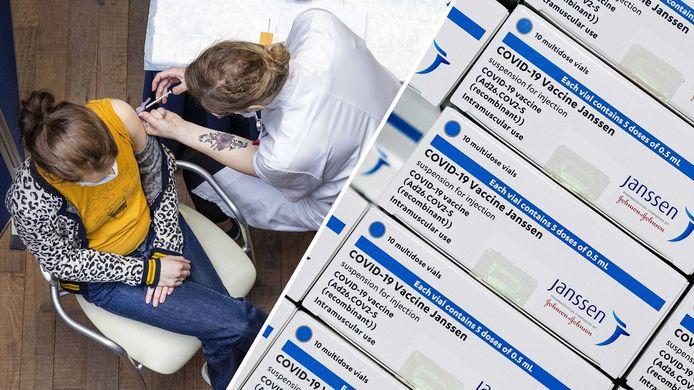 200.000 doses Janssen zijn verspreid over het land beschikbaar.