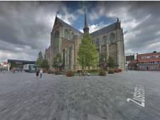 Goes overweegt proef met meer groen op 'kerkplein' om verkeersoverlast te bestrijden