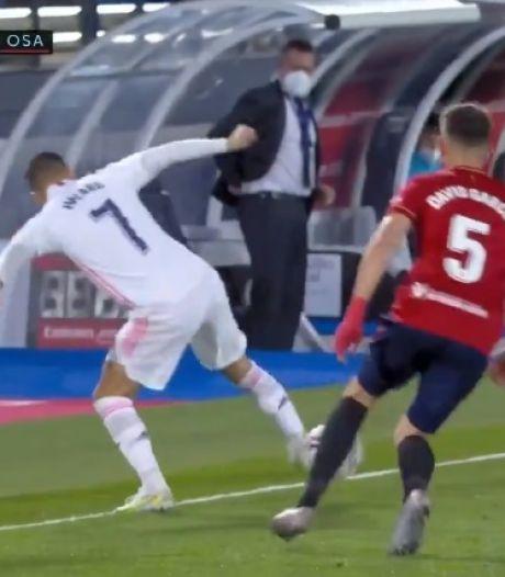 La talonnade géniale d'Eden Hazard qui a mystifié la défense adverse