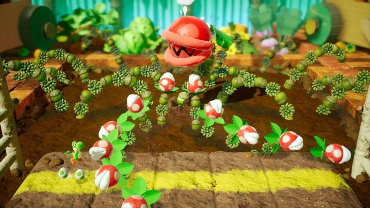 Yoshi's Crafted World Beeld Nintendo