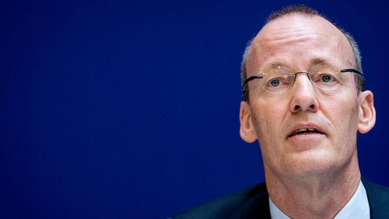 President Klaas Knot van De Nederlandsche Bank (DNB). Beeld anp