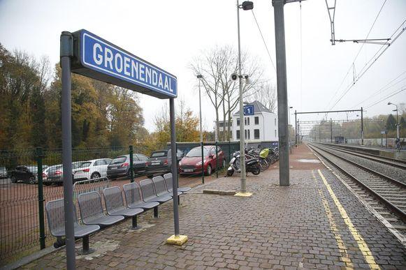 Het station Groenendaal.