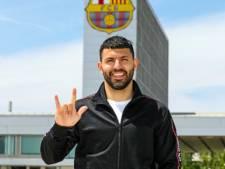 Sergio Agüero s'engage au Barça jusqu'en 2023