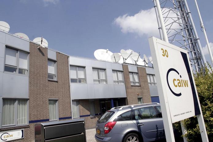 Het hoofdkantoor van moederbedrijf CAIW in Naaldwijk waar ook Caiway is gevestigd.
