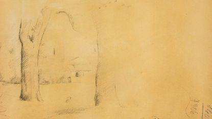 Nieuwe tekening van Cézanne ontdekt