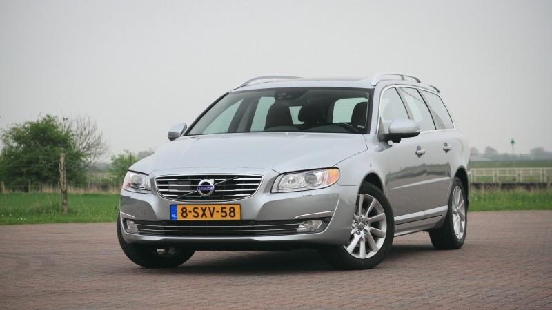 Een Volvo V70 vormde de inzet in het kort geding tussen Baan en Oldenhof. (De auto op de foto is niet de Volvo waarin het om het kort geding draaide.)