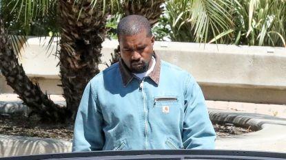 Kanye West in de clinch met boze buren: politie moet ter plaatse komen