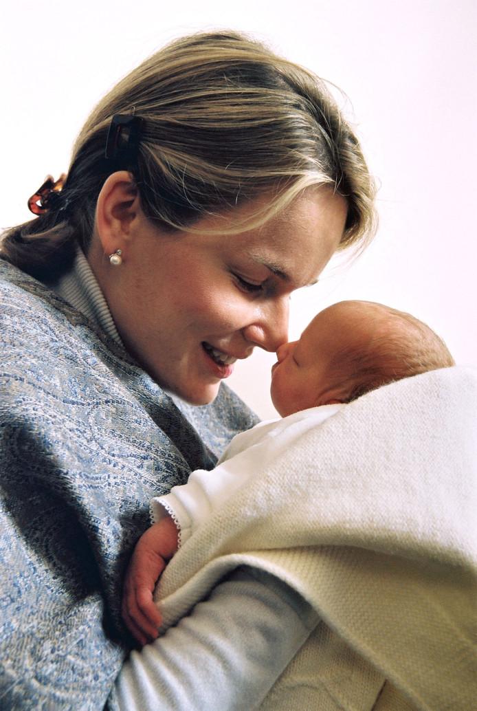 La princesse Elisabeth, le premier enfant du roi Philippe et de la reine Mathilde, est née peu avant 22 heures le jeudi 25 octobre 2001.