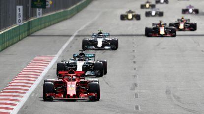 Komend seizoen meer inhaalacties in de Formule 1 na aanpassingen aan reglement