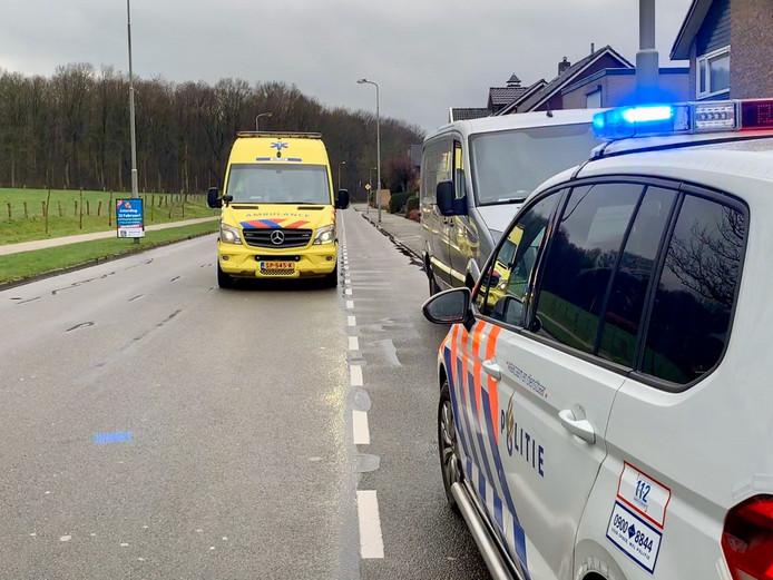 Meisje gewond ongeluk Oldenzaal Zuid-Berghuizen