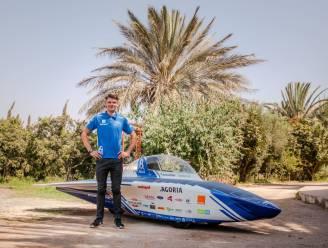 Kalmthouts ingenieursstudent Tuur (22) rijdt met zelfgemaakte zonnewagen door Marokkaanse Sahara