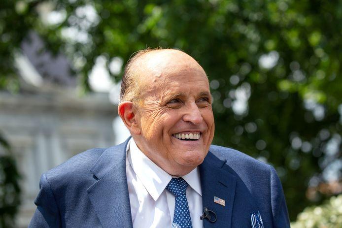 Rudy Giuliani, l'avocat personnel de Donald Trump.