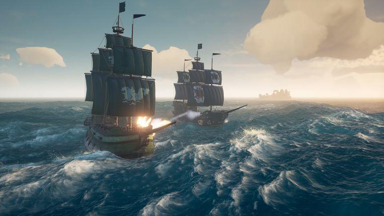 Het gevoel van 'piraat-zijn' zit er goed in. Beeld Microsoft