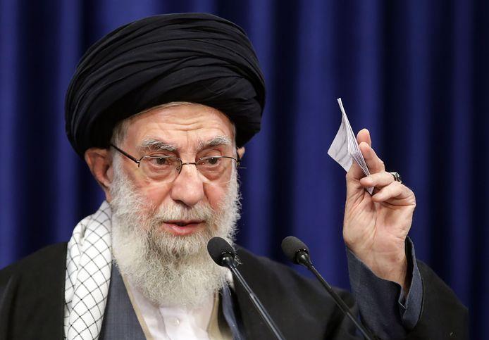 Le Guide suprême, l'ayatollah Ali Khamenei