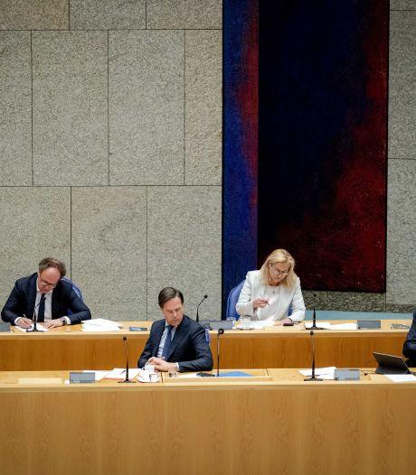 Aan het eind van het debat heeft Rutte toch weer hoop op een nieuwe termijn als premier
