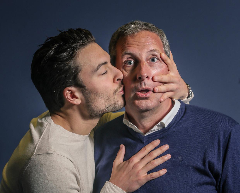 Viktor en Gert Verhulst. Beeld Photonews