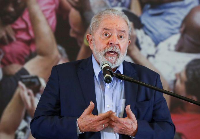 De Braziliaanse oud-president Luiz Inacio Lula da Silva.