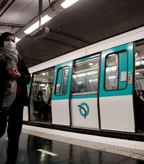 Un rare accident dans le métro parisien fait six blessés