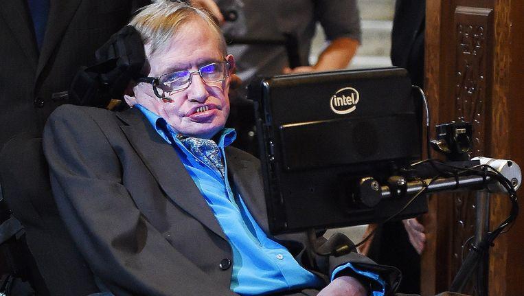 Steven Hawking Beeld epa