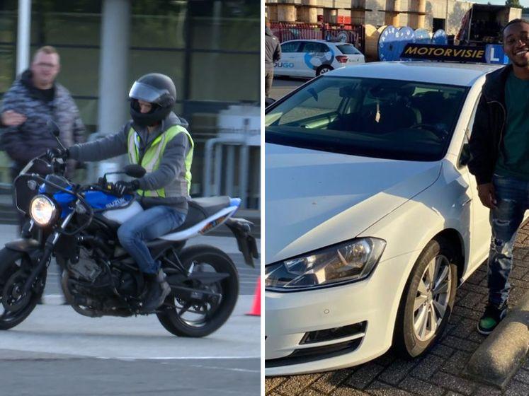 De Rooij in beschermende kleding laten spelen, Mashart eindelijk een rijbewijs en motorlessen voor Dennis?