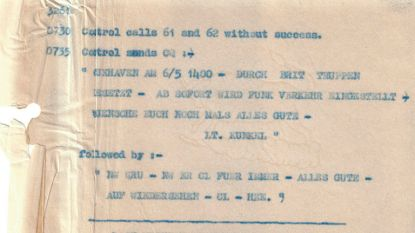 Laatste door Britten onderschepte nazibericht over militaire radio 75 jaar na V-dag vrijgegeven
