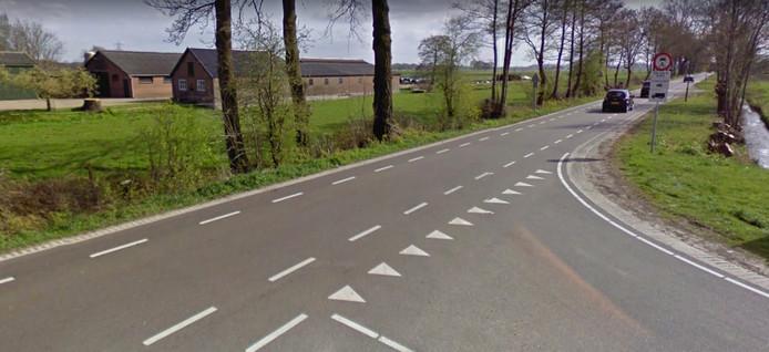 De Achterweteringseweg in Westbroek.