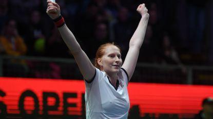 Drie op drie: Van Uytvanck verrast eerste reekshoofd na bloedstollende finale in Boedapest