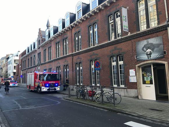 De school KOCA in Antwerpen.