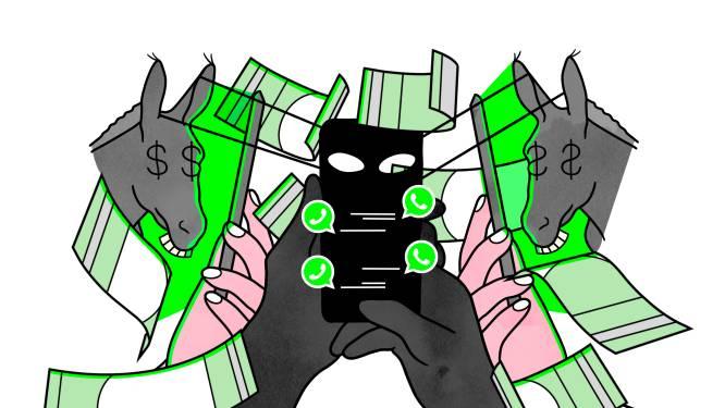 Wie zijn toch die WhatsAppfraudeurs die iedereen het leven zuur maken? Nou, dit is er één