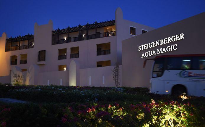Thomas Cook avait annoncé la semaine dernière qu'un taux élevé d'E-coli et de bactéries staphylocoques avaient été retrouvées dans le Steigenberger Aqua Magic Hotel.
