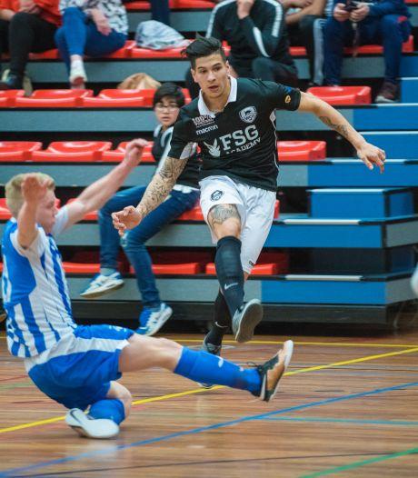 Jamarro Diks wordt ook weer een Apeldoornse zaalvoetballer