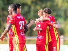 GA Eagles en Vitesse houden elkaar in oefenduel in evenwicht
