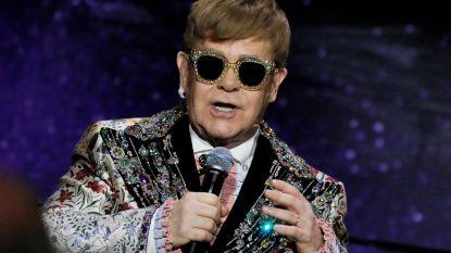 Elton John stopt met touren vanwege bijna-doodervaring