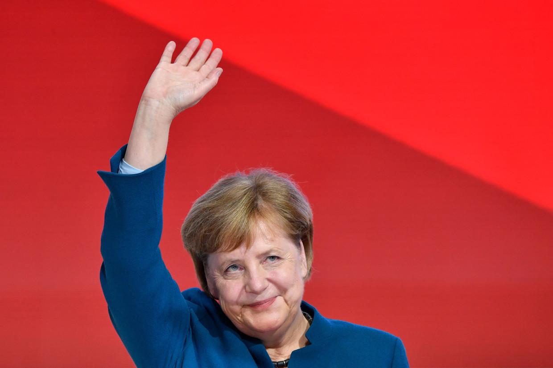 Voor de eerste keer in 16 jaar neemt Angela Merkel niet meer deel aan de Duitse verkiezingen. Beeld AFP