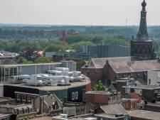 Verbazing over installaties op dak Primark Tilburg