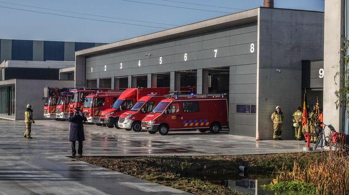 Brandweerposten Deerlijk en Vichte nemen intrek in nieuwe kazerne.