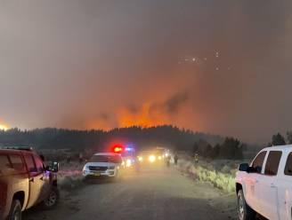 Zware natuurbranden in westen VS en Canada