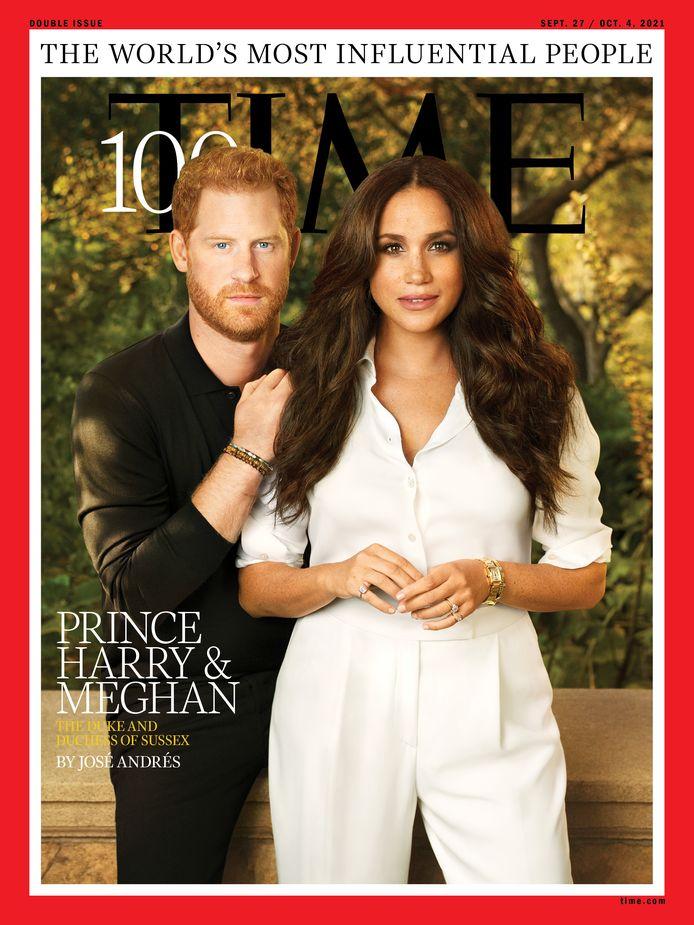 Le prince Harry et Meghan Markle figurent sur la couverture de l'édition du magazine Time consacrée aux 100 personnes les plus influentes du monde.