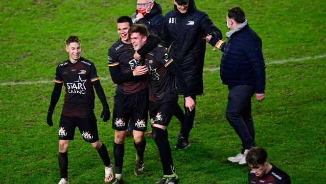 """KV Oostende viert op veld van Antwerp: """"De mooiste zege van het seizoen"""""""