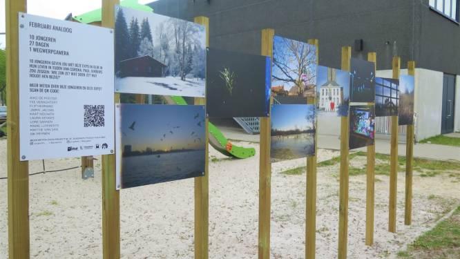 Outdoor foto-expo 'Februari Analoog' aan Biesakker