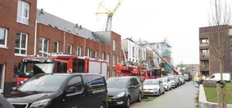 Grote brand bij werkzaamheden aan Utrechtse nieuwbouwwoningen