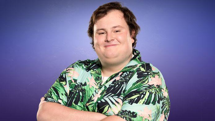 Thomas voor zijn deelname aan 'Big Brother'.