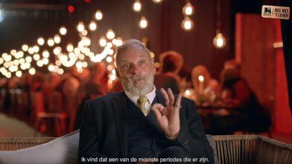 Daar is opperfigurant Maurice Vermeersch weer: rol in nationale reclamespot en exotische videoclip