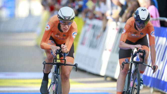 Nederland grijpt net naast goud bij gemengde estafette, droomafscheid Tony Martin