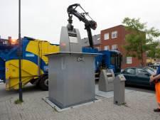 Afvalbak maakt plaats voor ondergrondse container