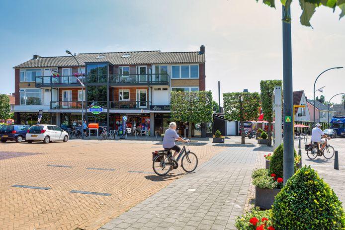 De Spoorstraat in Dorst.